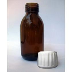 Φαρμακευτικό Μπουκάλι Καραμελέ 100ml, Din28