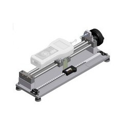 Horizontal support stand for force meters